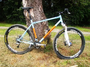 Crucial Custom Cycles custom-made mountain bike
