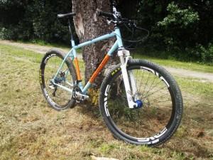 Crucial Custom Cycles custom-made mountain bike frames